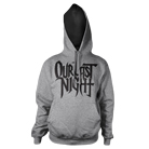 Our Last Night - Logo (Heather Grey) (Hoodie) [入荷予約商品]