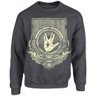 Protest The Hero - Trek Hand (Dark Heather) (Sweat) [入荷予約商品]