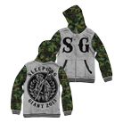 Sleeping Giant - SG (Camo) (Varsity Jacket) [入荷予約商品]