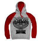 After The Burial - Pi (Heather Grey/Red) (Hoodie) [入荷予約商品]