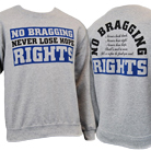 No Bragging Rights - Never Lose Hope (Heather Grey) (Sweat) [入荷予約商品]