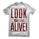 For the Fallen Dreams - Look Alive (White) [入荷予約商品]