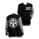 Stray From the Path - SFTP (Black/Grey) (Letterman Jacket) [入荷予約商品]