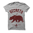 Secrets - Bear (Heather Grey) [入荷予約商品]