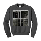 A Lot Like Birds - Squares (Charcoal) (Sweat) [入荷予約商品]