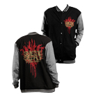 Suicide Silence - TBC (Black/Heather Grey) (Letterman Jacket) [入荷予約商品]