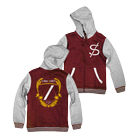 Structures - Divided By (Red/Heather Grey) (Varsity Jacket) [入荷予約商品]