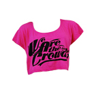 We Are The In Crowd - Logo (Fuchsia) (Crop Top) [girl's] [入荷予約商品]