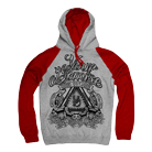 Your Demise - Cold (Heather Grey/Red) (Hoodie) [入荷予約商品]