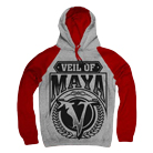 Veil of Maya - V (Heather Grey/Red) (Hoodie) [入荷予約商品]