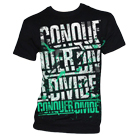 Conquer Divide - Logo (Green / White) [入荷予約商品]