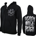 Impending Doom - Death Will Reign Repentagram (Zip Up Hoodie) [入荷予約商品]