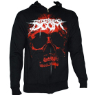 Impending Doom - Giant Red Skull (Zip Up Hoodie) [入荷予約商品]