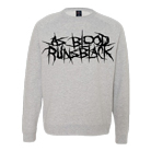 As Blood Runs Black - Logo (Heather Grey) (Sweat) [入荷予約商品]