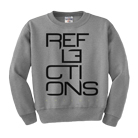 Reflections - Stacked Logo (Heather Grey) (Sweat) [入荷予約商品]