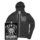 The Persevering Promise - Yourself (Dark Heather) (Zip Up Hoodie) [入荷予約商品]