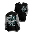 Lionheart - Struggle (Black/Grey) (Letterman Jacket) [入荷予約商品]