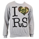 Restless Streets - I Heart RS (Grey) (Sweat) [入荷予約商品]