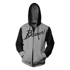 Barrier - Logo (Black/Grey) (Zip Up Hoodie) [入荷予約商品]