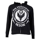 Silverstein - Siren (Heather Charcoal) (Zip Up Hoodie) [入荷予約商品]