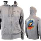 Circa Survive - Stoney Frog (Heather Grey) (Zip Up Hoodie) [入荷予約商品]