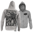 Make Them Suffer - Watchers (Heather Grey) (Zip Up Hoodie) [入荷予約商品]