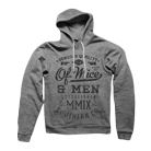 Of Mice & Men - Text (Heather Athletic Grey) (Hoodie) [入荷予約商品]