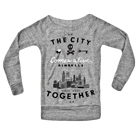 All Time Low - City (Heather Grey) (Sweat) [girl's] [入荷予約商品]