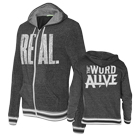 The Word Alive - Real (Eco Black) (Zip Up Hoodie) [入荷予約商品]