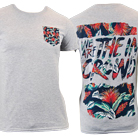 We Are The In Crowd - Floral (Heather Grey) (Pocket) [入荷予約商品]