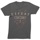 Defeat The Low - Logo (Heather Charcoal) [入荷予約商品]