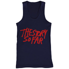 The Story So Far - New Logo (Navy) (Tank Top) [入荷予約商品]