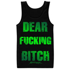 Nightshade - Dear Fucking Bitch (Tank Top) [入荷予約商品]