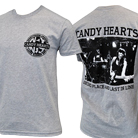Candy Hearts - Hardcore (Heather Grey) [入荷予約商品]