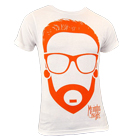 Memphis May Fire - Cartoon Matty2 (White) [入荷予約商品]