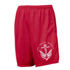 The Color Morale - Anchor (Red) (Pocket Mesh Shorts) [入荷予約商品]