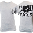Cursed Sails - Logo (Heather Grey) (Pocket) [入荷予約商品]