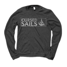 Cursed Sails - Sail Boat (Charcoal) (Long Sleeve) [入荷予約商品]