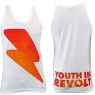 Youth In Revolt - Lightning Bolt (Tank Top) [入荷予約商品]