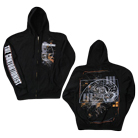 The Contortionist - Brain (Zip Up Hoodie) [入荷予約商品]