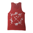 Crown The Empire - Weapon Cog (Red) (Tank Top) [入荷予約商品]
