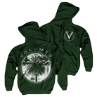 Volumes - No Sleep (Forest Green) (Zip Up Hoodie) [入荷予約商品]