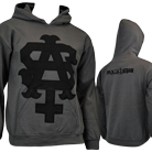 The Acacia Strain - Team Logo (Charcoal) (Hoodie) [入荷予約商品]
