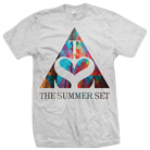 The Summer Set - Triangle Logo (Heather Grey) [入荷予約商品]