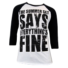 The Summer Set - Everything's Fine (Baseball) [入荷予約商品]