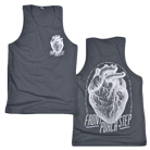 Front Porch Step - Heart (Dark Grey) (Tank Top) [入荷予約商品]