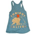 Tonight Alive - Bear (Mint) (Tank Top) [girl's] [入荷予約商品]