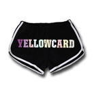 Yellowcard - Colorful Full Logo (Track Shorts) [girl's] [入荷予約商品]