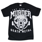 Thy Art Is Murder - Death Wolf (Black) [入荷予約商品]