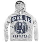 Deez Nuts - Hardcore Crest (Light Grey) (Hoodie) [入荷予約商品]
